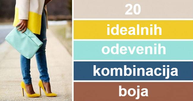 20 idealnih odevnih kombinacija boja