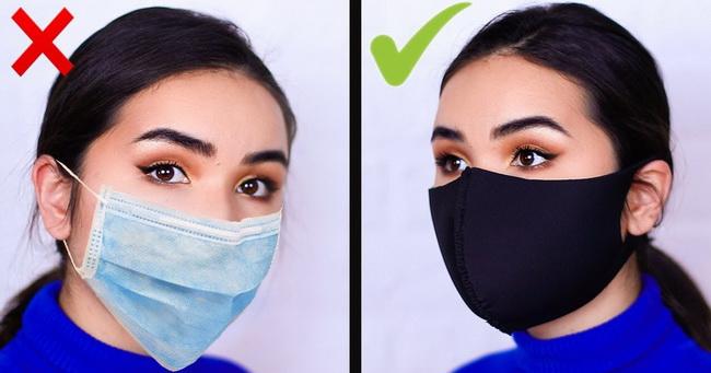 Dva načina da sami napravite masku