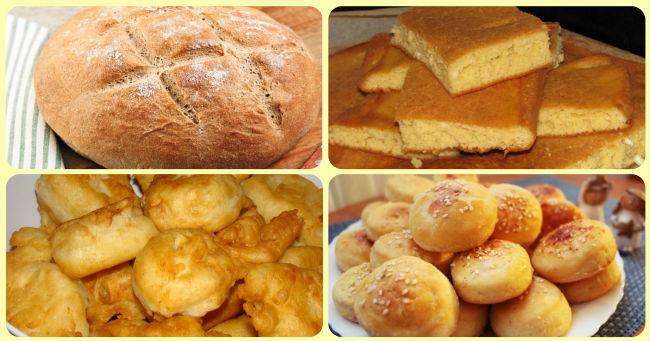 Osnovni recepti za pravljenje hleba i peciva