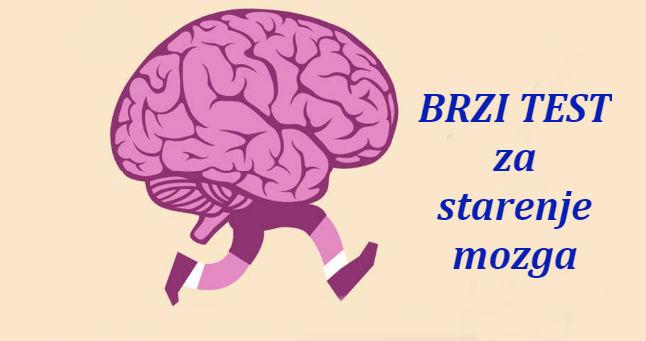 Petominutni test starenja mozga