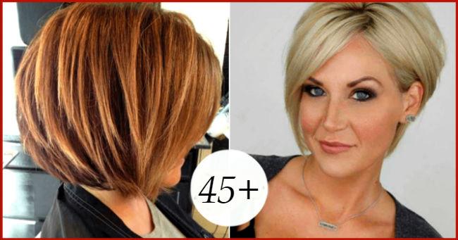 Moderne frizure sa šiškama za dame 45+