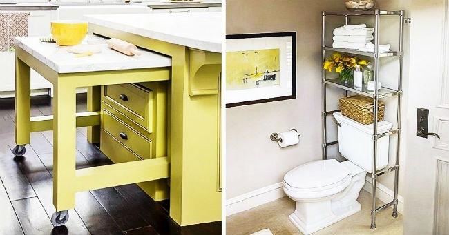 20 genijalnih ideja da iskoristite prostor u kući